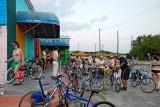 Super Happy Fun Land World Naked Bike Ride gathering