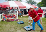 Clute GTMF BBQ Cook-Off pitching washers