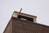 New nest box on the campus in Oshkosh Wisconsin