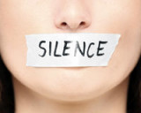 SILENCE on PARLE -- BLACKout SPEAKout