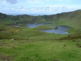 Corvo crater lake