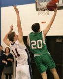 Seton Catholic Central High School's Boys Varsity Basketball Team versus Chenango Forks High School