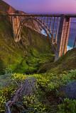 Bixby Bridge at dusk