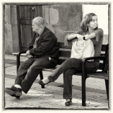 Two on a bench Las Palmas