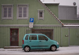 Car parked outside Violgata 10