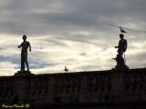 Statue e gabbiani