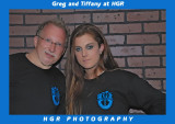 Tiffany Marie and Greg In HGR T'S