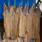 dried fish hanging 2