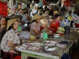 Fish sellers at market