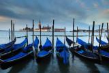 San Giorgio Maggiore with Gondolas in foreground  11_DSC_0476