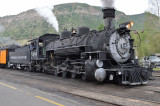 My Second day of riding the D&SNG from Durango to Silverton and back