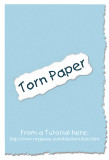 Torn Paper Tutorial