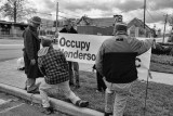 Occupy Hendersonville Picket 11-26-2011