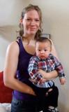 Joshua and his nanny
