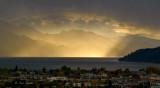 Storm over Okanagan Lake