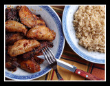peri peri chicken and rice