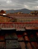 Rain on Red Tiles3562