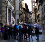 A Demonstration in Via del Proconsolo3575