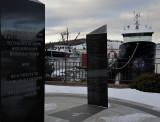 Fishermen's Memorial and Tribute - Lunenburg, Nova Scotia