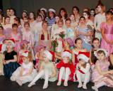 Dance recital curtain call