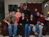 Our family - Christmas 2007