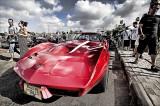 Restored Corvette at Club 5