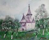 Biserica in Bucovina  (colectie particulara)