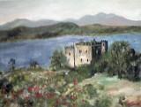 Castelul Sween-Scotia  (colectie autor)