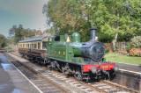 1450 and Autotrailer at Crowcombe Heathfield.