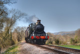 9351 coasts downhill to Bishops Lydeard.