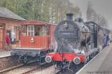 44422 waits at Crowcombe Heathfield.