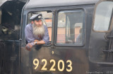 Driver Dorrington in charge of 92203.