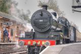 88 leaving Crowcombe Heathfield.