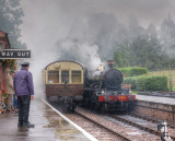 A wet day at Crowcombe Heathfield,