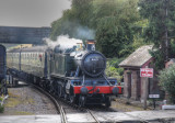 4160 arriving at Williton Station.