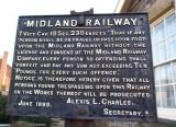 Midland Railway sign.