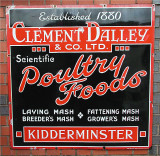 Sign - Poultry Foods.