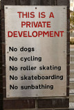 This is a private development