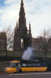 Class 43 at Edinburgh Waverley 1986.
