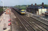 Class 43062  southbound at Thirsk.