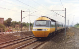 Class 43 approaching Thirsk at 120mph - August 1989.