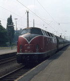 Herford - Class 220 arrives..
