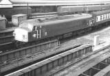 Class 45-46 at Nottingham Midland -1972.