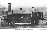 Fleetwood and West Riding Railway - original photograph taken 1856 - postcard.