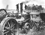 Traction Engine - pre- Combine Harvesters - unknown date or location.