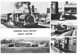 Yorkshire Dales Railway - postcard.