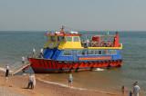 Colourful boat.