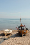 E9 on Sidmouth beach.
