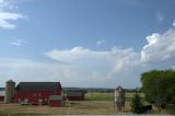 Distant Storm cloud