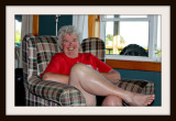 Showing A Leg For Hubby